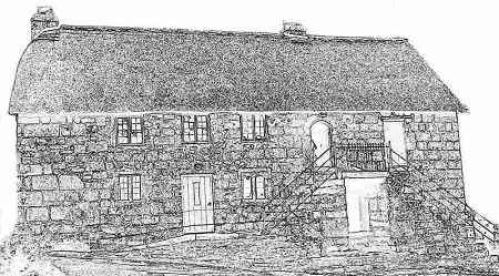 Church House - Completed pencil drawing