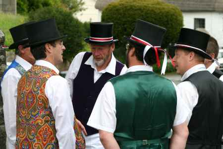 The Tinner's Morris discuss tactics